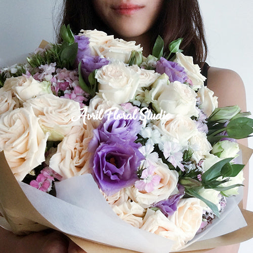 Soft Hue Pastel Bouquet