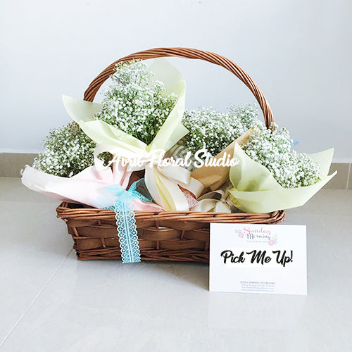 Mini Baby's Breath Bouquet