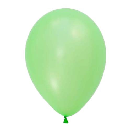 "12"" Pearl Latex Balloon Citrus Green"