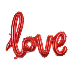 "Red LOVE Foil Balloon (26"")"