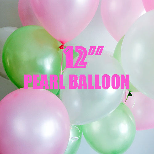 "12"" Pearl Latex Balloon"