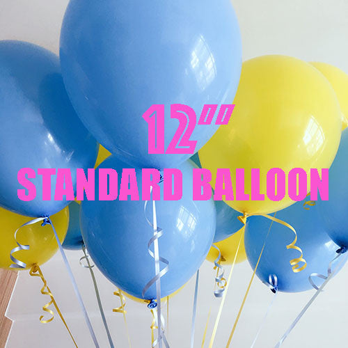 "12"" Standard Latex Balloon"