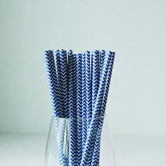 Chevron Straws