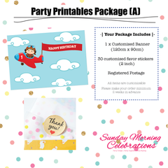 Party Printables Package (A)