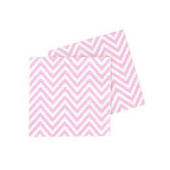 Chevron Sweet Pink Party Napkins
