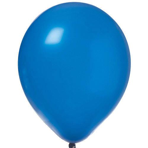 "12"" Pearl Latex Balloon Dark Blue"