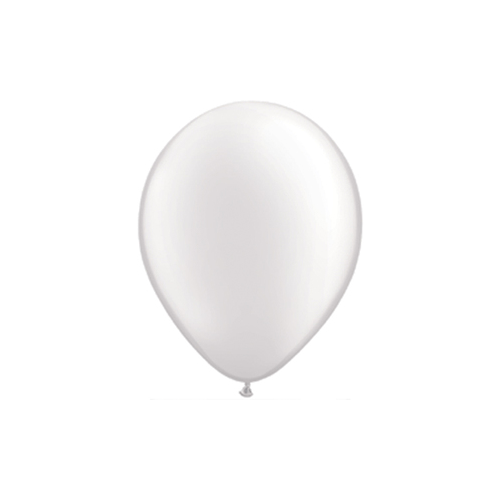 "12"" Pearl Latex Balloon Pearl Ivory"
