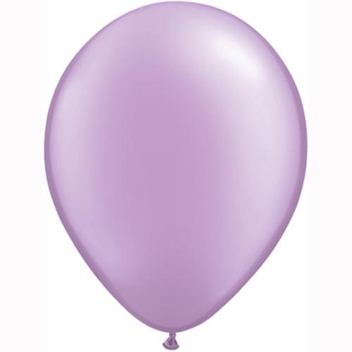 "12"" Pearl Latex Balloon Pearl Lilac"