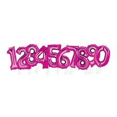 "40"" Hot Pink Foil Balloon"