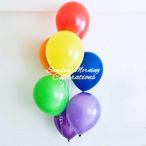 Rainbow Balloon Bouquet