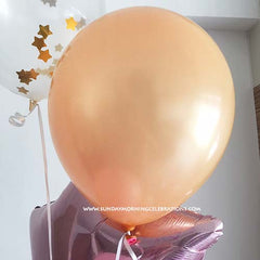 "12"" Latex Balloon Rose Gold"
