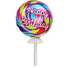 Happy Birthday Foil Balloons
