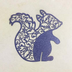 Squirrel Cut Out (Midnight Blue)