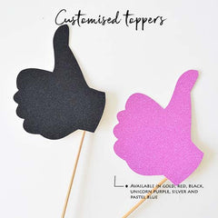 Copy of Cupcake Topper (Thumbs Up)