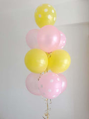 Yellow & Pink Balloon Bouquet
