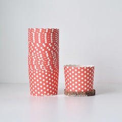 Cupcake Liners (Red Polka Dots)