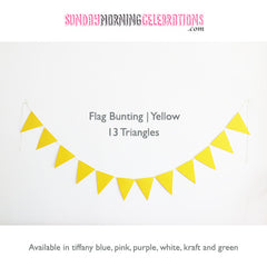 Coloured Party Bunting