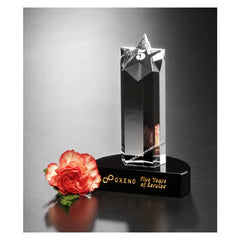 4104 Prominence Crystal Star Award - American Trophy & Award Company - Los Angeles, CA 90022