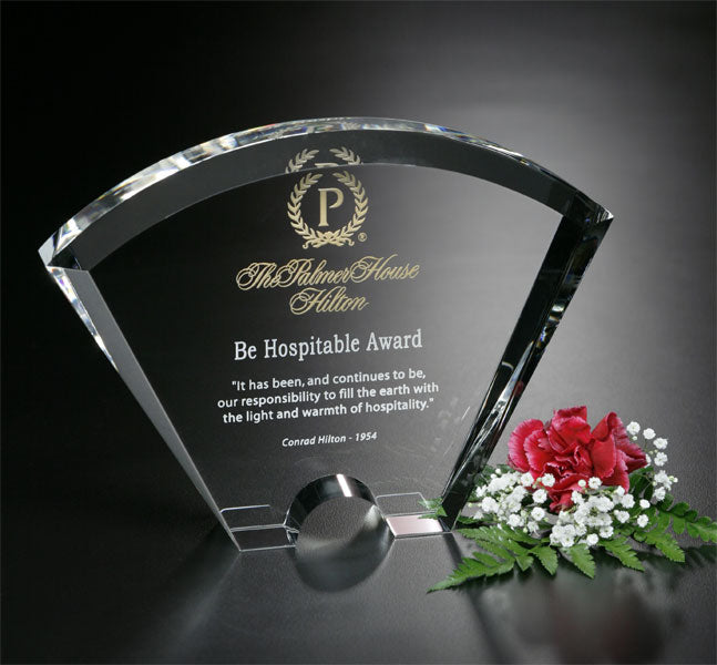 5767 Optic Crystal Fantasy Award - American Trophy & Award Company - Los Angeles, CA 90022