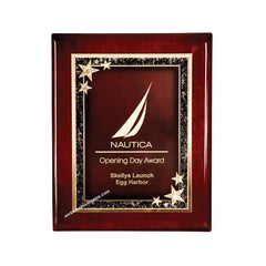 6C201P Rosewood Piano-finish Award Plaque - American Trophy & Award Company - Los Angeles, CA 90022