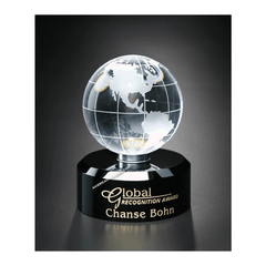 Awards In Motion Globe|Style 7127 for $ 130.00 at American Trophy & Award Company - Los Angeles, CA 90022
