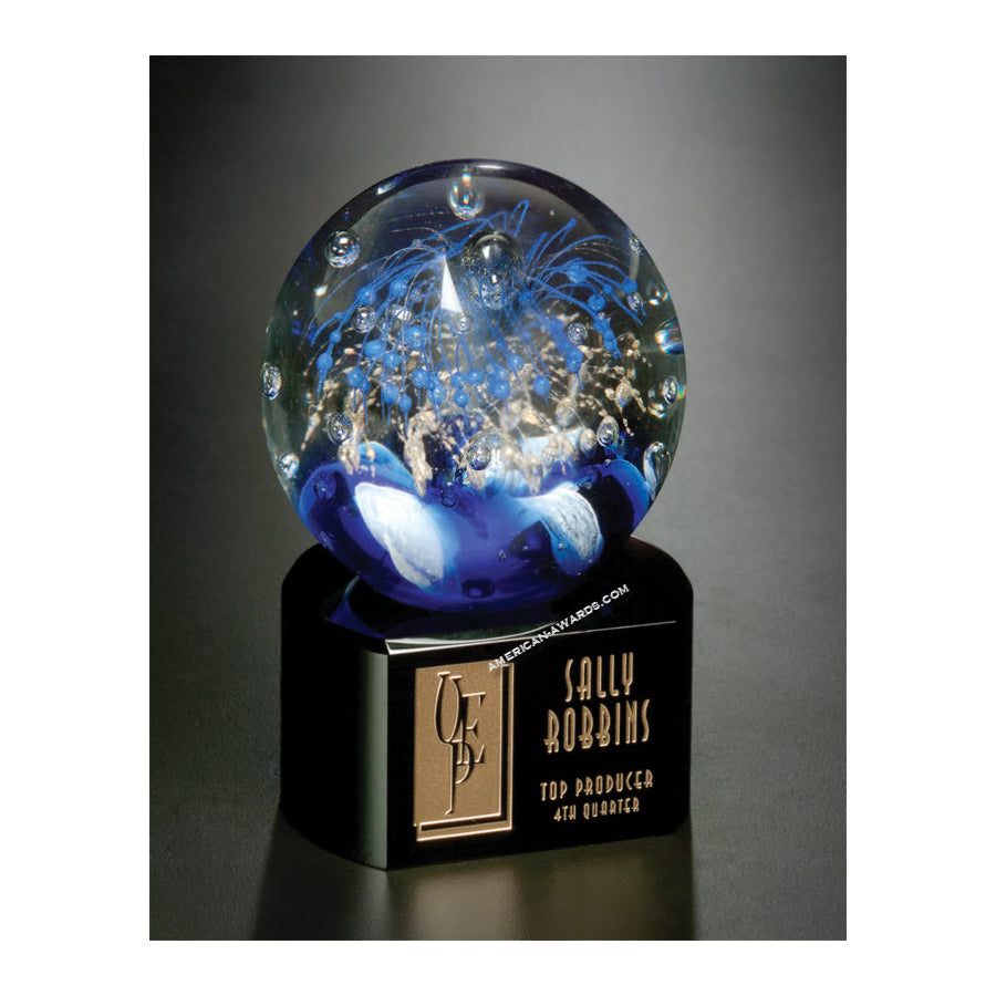7227B Celebration Art Glass Award - American Trophy & Award Company - Los Angeles, CA