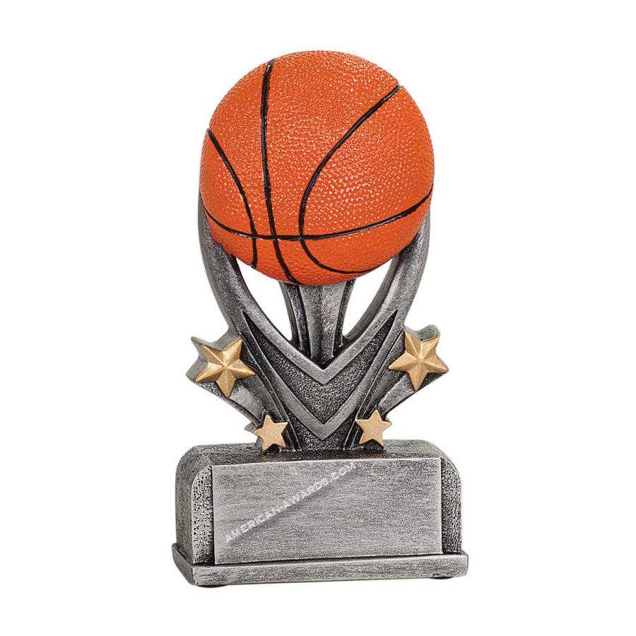 7s1504 Resin Basketball Trophy - American Trophy & Award Company - Los Angeles, CA 90022