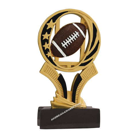 AT1802 | Football MidNite Star Trophy for $ 5.99 at American Trophy & Award Company - Los Angeles, CA 90022