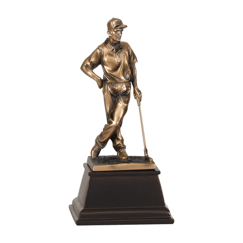 Bronze Golf Resin Trophy | Style 7S3301
