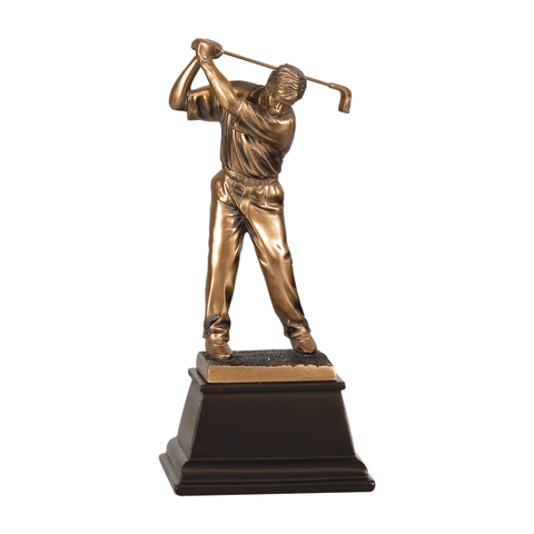 Bronze Golf Resin Trophy | Style 7S3302