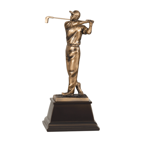 Bronze Golf Resin Trophy | Style 7S3303