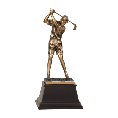 Bronze Golf Resin Trophy | Style 7S3304