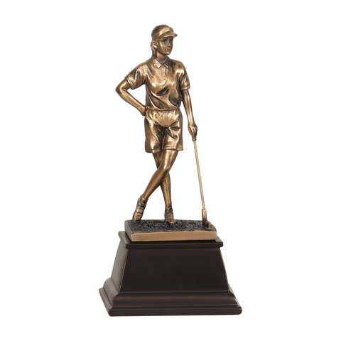 Bronze Golf Resin Trophy | Style 7S3305