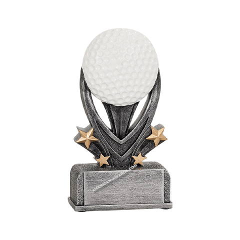 Golf Sport Resin Trophy|Style 7S3403