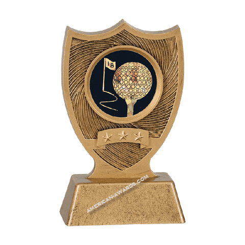 Sport Shield Resin Trophy | Style 7S3405