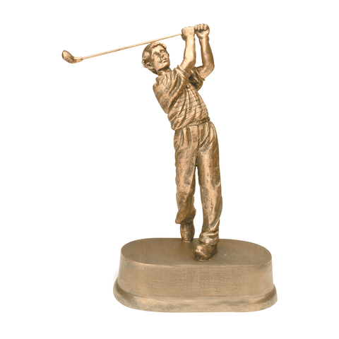 Male Golf Resin Trophy | Style 7S3406