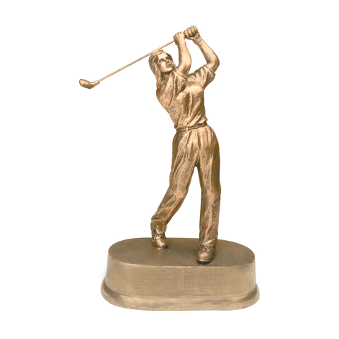Female Golf Resin Trophy | Style 7S3407