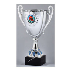 AMC66 Silver Finish Cup Trophy - American Trophy & Award Company - Los Angeles, CA 90022
