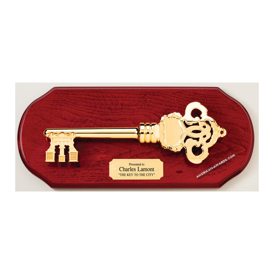 AP70 Key To The City Plaque - American Trophy & Award Company - Los Angeles, CA 90022