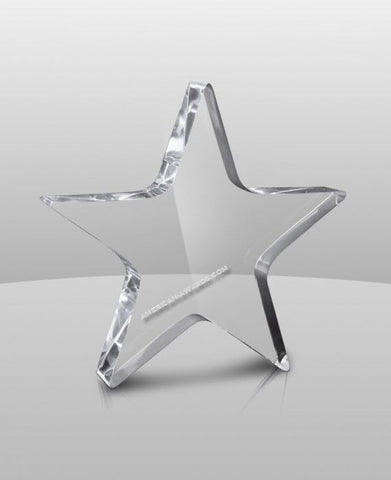 AT-632 | Acrylic Star Paperweight for $ 20.35 at American Trophy & Award Company - Los Angeles, CA 90022