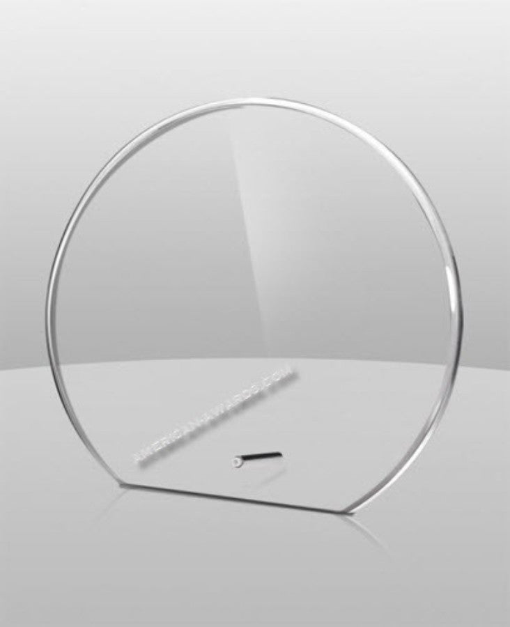 AT-745 Acrylic Circle Award - American Trophy & Award Company - Los Angeles, CA 90022