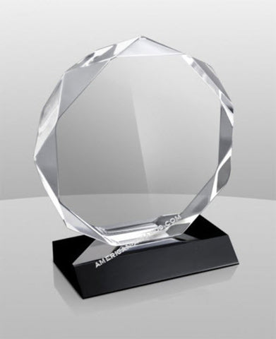AT-858 | Diamond Heavy Facet Acrylic Award