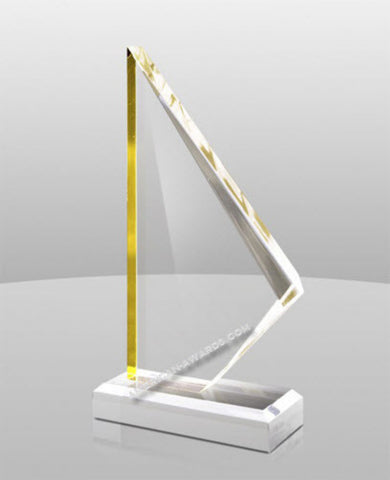 A-873|Golden Summit Acrylic Award
