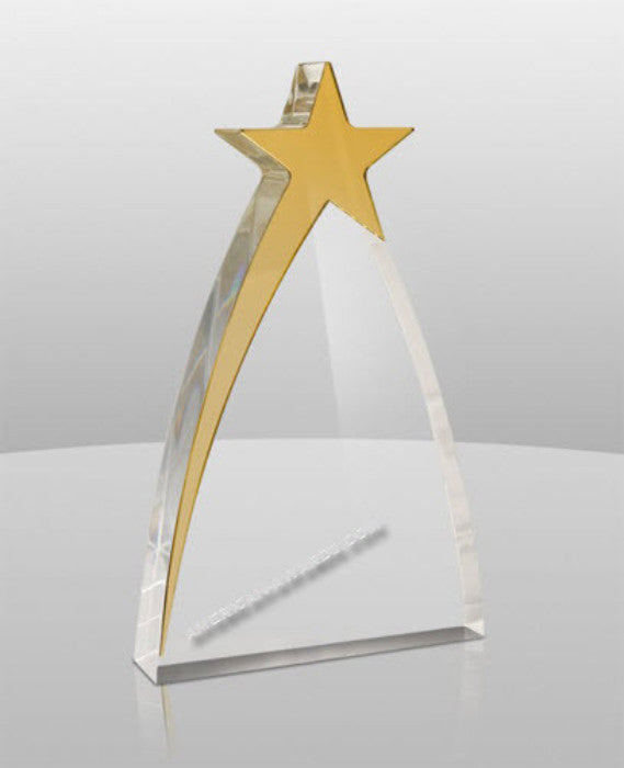 AT-936 New Star Acrylic Award - American Trophy & Award Company - Los Angeles, CA 90022