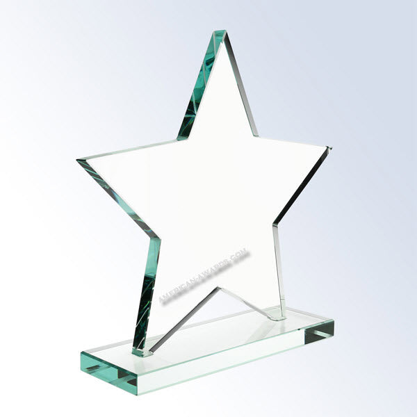 AT1713  |   Jade Glass Star for $ 85.00 at American Trophy & Award Company - Los Angeles, CA 90022