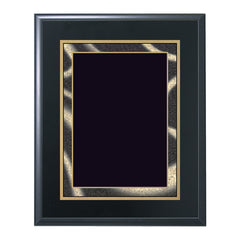 BF704 Ebony Finish Award Plaque - American Trophy & Award Company - Los Angeles, CA 90012