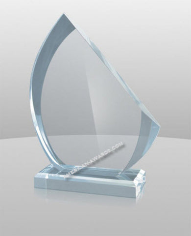 BL-879|Sail Shape Acrylic Award