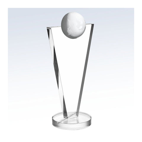 C1227 | Crystal Success Globe Award