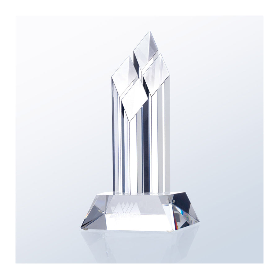 C917 Superior Diamond Crystal Award - American Trophy & Award Company - Los Angeles, CA 90022