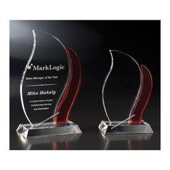 CAN60RD Artisan Optic Crystal Award - American Trophy & Award Company - Los Angeles, CA 90022
